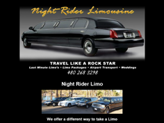 Night Rider Limo