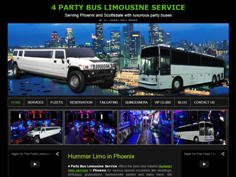 4party bus limousine